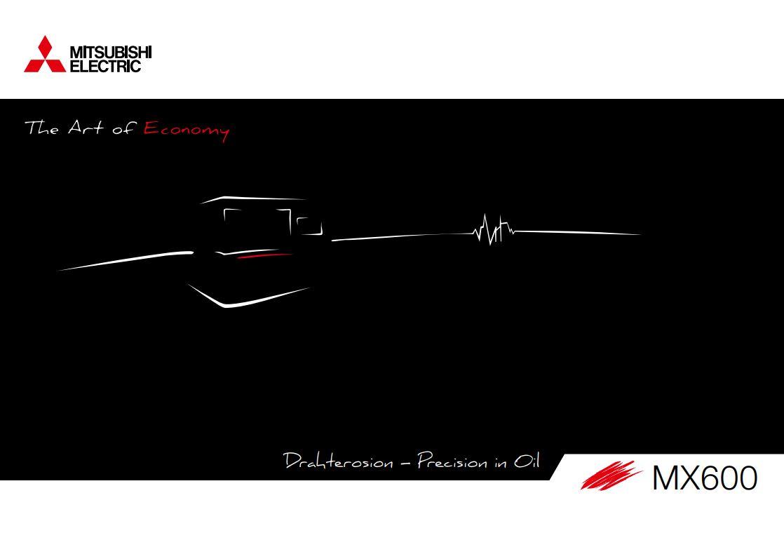 Mitsubishi Drahterosionsmaschinen MX 600